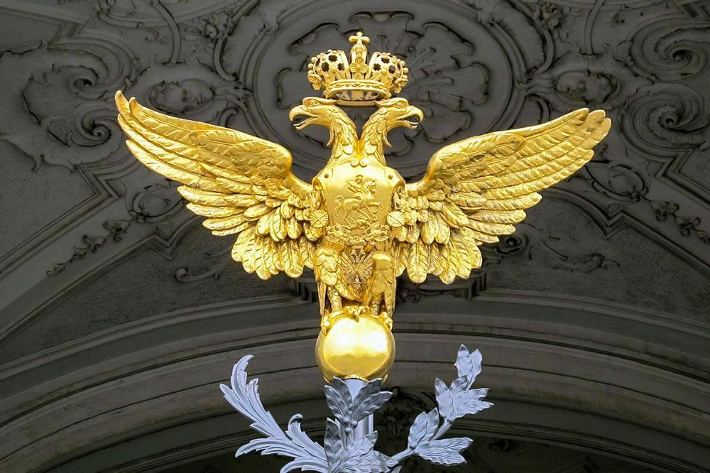 Sankt Petersburg Ermitaj Müzesi Çift Başlı Kartal