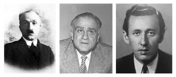 Ahmet Haşim, Ahmet Hamdi Tanpınar, Orhan Veli
