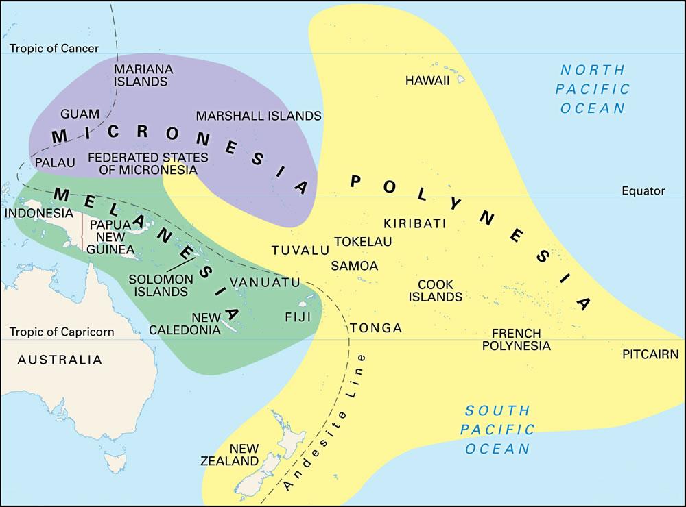 Melanezya Adaları