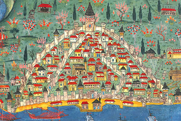 Matrakçı Nasuh Minyatür Galata İstanbul