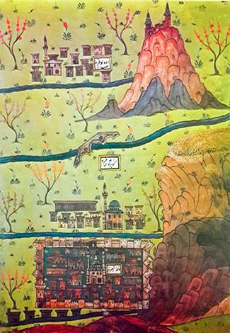 Matrakçı Nasuh Minyatür Kayseri