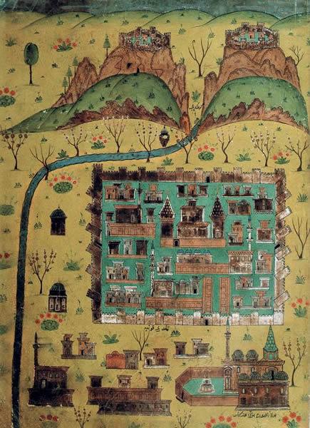 Matrakçı Nasuh Minyatür Konya